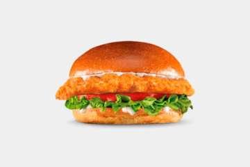 Carl's Jr. The Big Chicken Fillet Sandwich