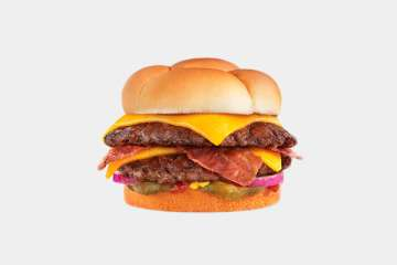 Culver's Cheddar ButterBurger with Bacon