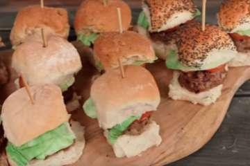 Kid-Friendly Mini Burgers