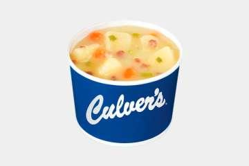 Culver's Potato with Bacon Soup