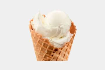 Culver's Vanilla Waffle Cone