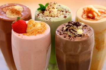 America's best fast food shakes