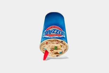 Dairy Queen M&M'S Milk Chocolate Candies Blizzard