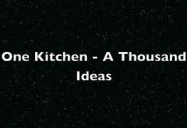 One Kitchen - A Thousand Ideas