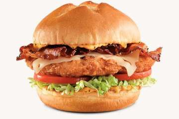 Arby's Chicken Bacon & Swiss Sandwich