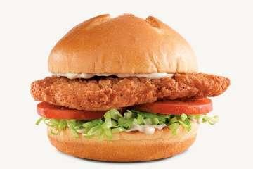 Arby's Crispy Chicken Sandwich