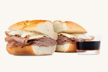 Arby's French Dip & Swiss