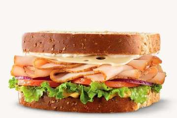 Arby's Roast Turkey & Swiss Sandwich