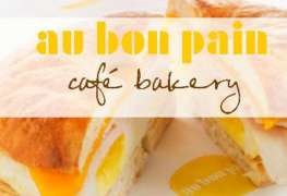 Food on the Run: Au Bon Pain