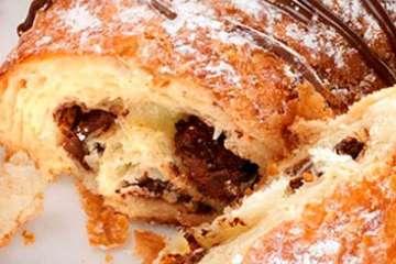 Au Bon Pain Chocolate Croissant