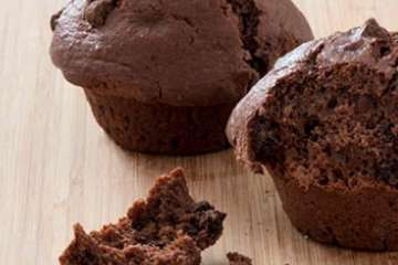 Au Bon Pain Double Chocolate Chunk Muffin