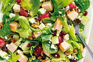Au Bon Pain Harvest Turkey Salad