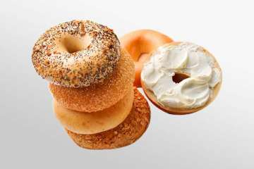 Au Bon Pain Honey 9-Grain Bagel