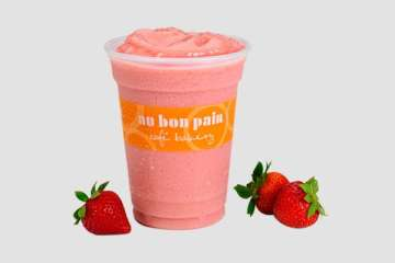 Au Bon Pain Strawberry Passion Smoothie