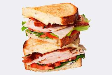 Au Bon Pain Turkey Club
