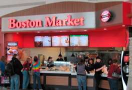 Boston Market opens first mall location