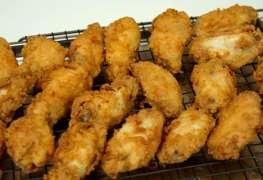 Double Fried Crispy Chicken Wings Recipe