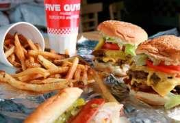 Let's Do Lunch: Five Guys Burgers and Fries