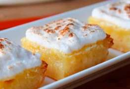 Easy Lemon Meringue Bars Recipe