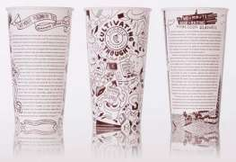 Chipotle collaborating with 10 authors for a thoughts-on-the-packaging project