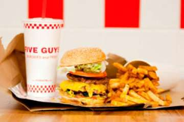 'Five Guys' know how to make burgers, fries