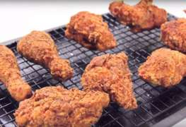 Super crunchy fried chicken
