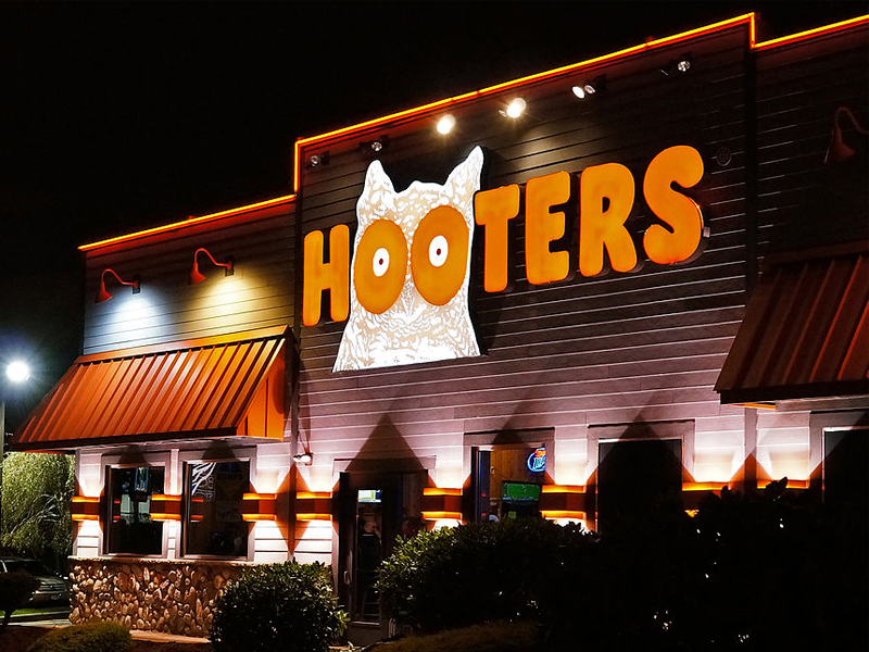 Hooters Restaurant Near This Location