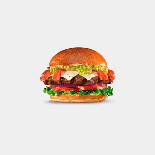 The Guacamole Bacon Thickburger