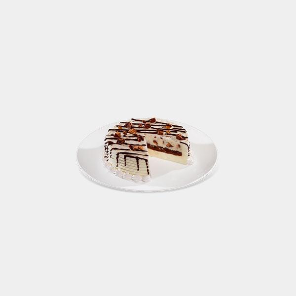 Chocolate Crunch Peanut Butter Ice Cream Cake