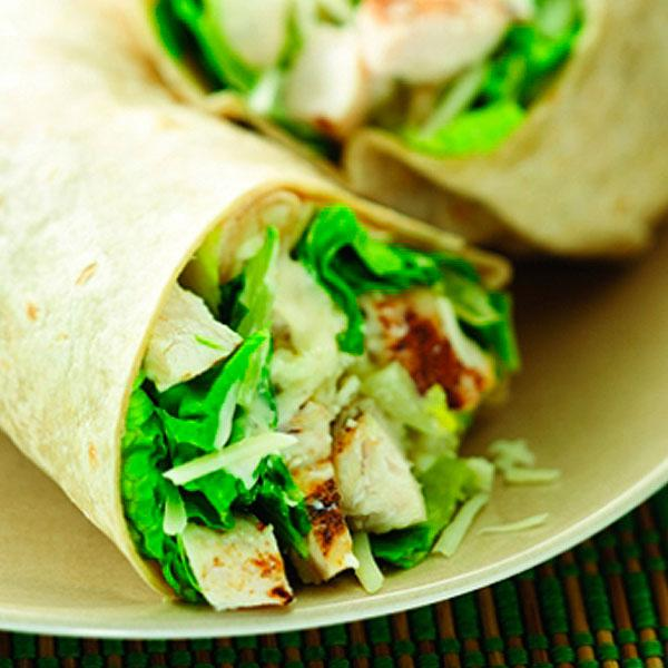 Chicken Caesar Wrap Fast Food
