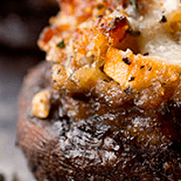 Home Recipes The Best Recipes Stuffed mushrooms