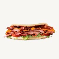 Arby's Brisket Bacon Flatbread