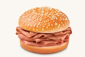Arby's Kids Jr Roast Beef Sandwich