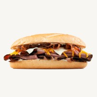 Arby's Three Cheese and Bacon