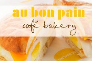 Au Bon Pain Healthy Food