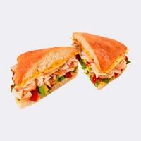 Au Bon Pain Chipotle Turkey and Avocado