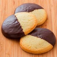 Au Bon Pain Chocolate Dipped Shortbread Cookie