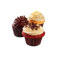 Au Bon Pain Red Velvet Cupcake