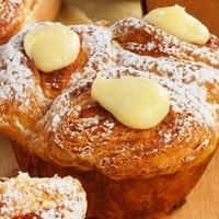 Au Bon Pain Sweet Cheese CroisBun