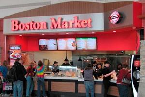 Boston Market Food Court