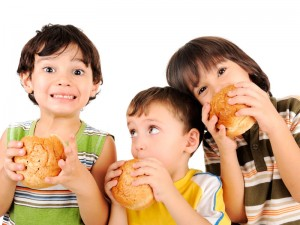 Childrens Meals fast food