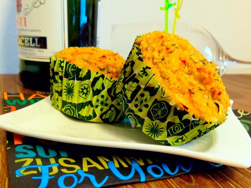 Crunchy Couscous Muffins