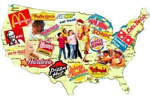 Fast Food Map USA