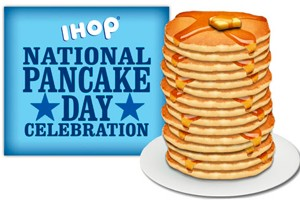 IHOP National Pancake Day Logo