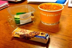 Au Bon Pain Lunch