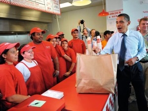 Obama Visited Five Guys