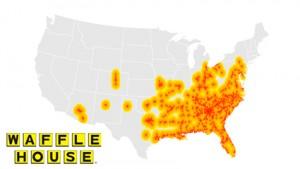 Waffle House Map