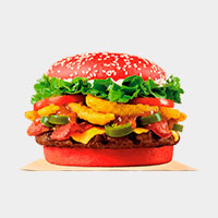Burger King ANGRIEST WHOPPER® SANDWICH