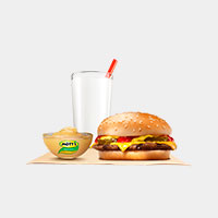 Burger King Cheeseburger King Jr™ Meal