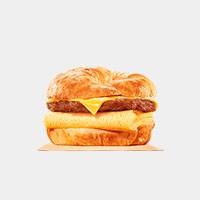 Burger King Sausage, Egg & Cheese CROISSAN'WICH